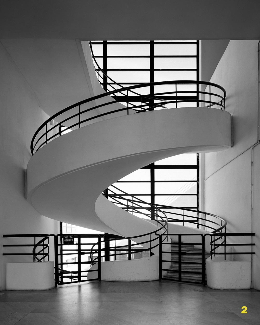 Luigi Moretti casa Balilla Roma architettura stile grafico